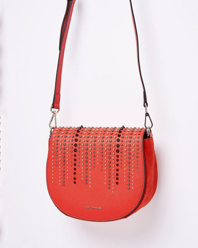 Cromia 1403855 Perla Rock Crossbody Bag RED