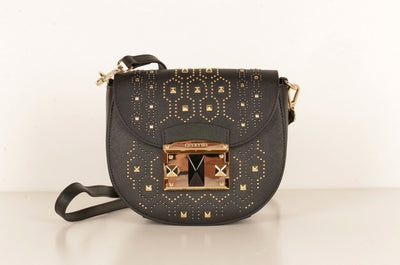 Cromia 1403881 It Punky Studded Crossbody Bag BLACK