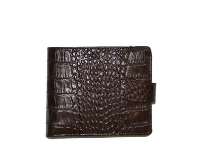 BOND 516-355 LEATHER WALLET BROWN