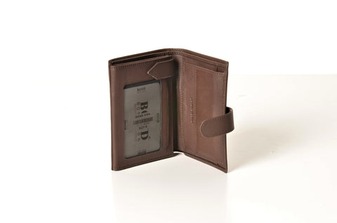 BOND 527-4 LEATHER WALLET BROWN