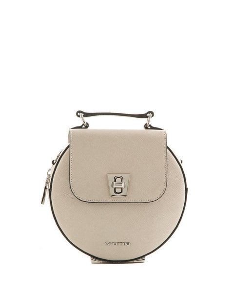 Cromia 1403589 Perla Leather Mini Bag IVORY