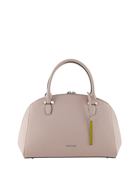 Cromia 1403594 Perla Leather Trunk Bag BEIGE
