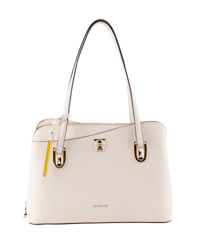 Cromia 1403625 Mina Leather Shoulder Bag BEIGE