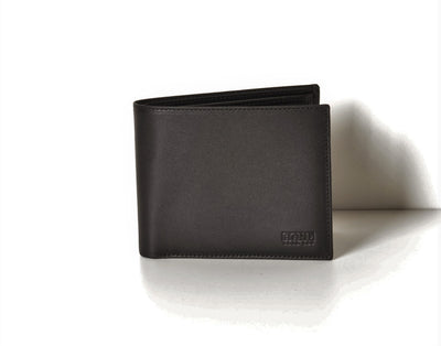 BOND 519-1 LEATHER WALLET BLACK