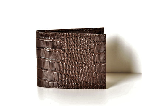 BOND 519-355 LEATHER WALLET.