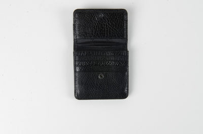 BOND 555 LEATHER WALLET BLACK