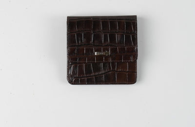BOND 555 LEATHER WALLET BORDO