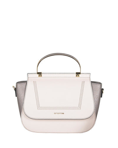Cromia 1403713 Marina Leather Handbag BEIGE