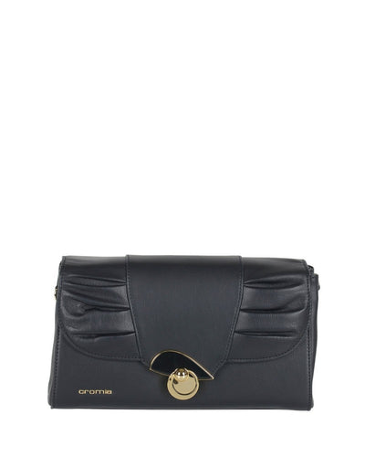 Cromia 1403787 Gala Convertible Clutch BLACK