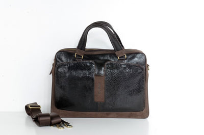 BELLUCCI 5059 LEATHER BAG BROWN