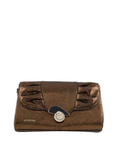 Cromia 1403794 Gala Convertible Clutch BRONZE