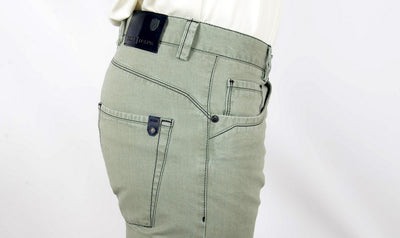 ECER SLIM CUT PANEL JEAN MINT