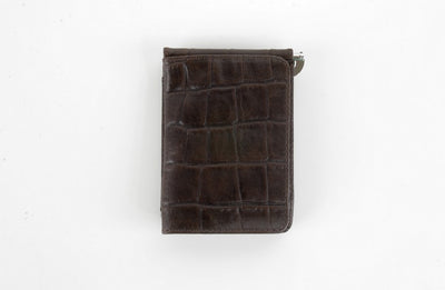 BOND 438 LEATHER WALLET BROWN