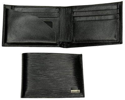 Bond Epi Leather Wallet BLACK