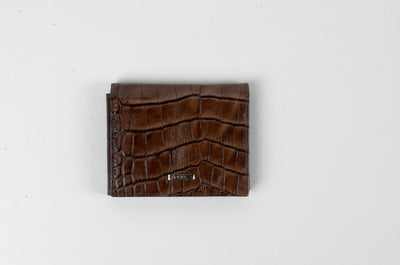 BOND 530 LEATHER WALLET BROWN