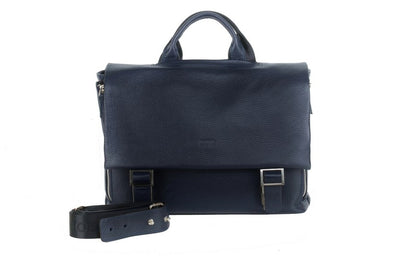 BOND 133 LEATHER BAG NAVY