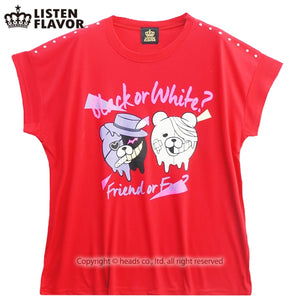 Listen Flavor Danganronpa black or white? t-shirt