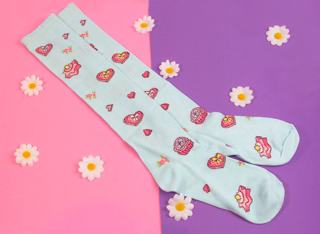 "Bodyline ""cookie"" knee high Lolita socks"