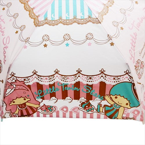 "Sanrio Little Twin Stars ""Sweets and Cakes"" umbrella"