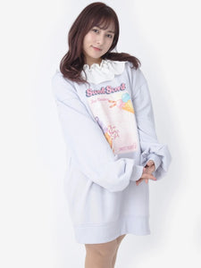 Ank Rouge Sweet Scent ice-cream sweater dress