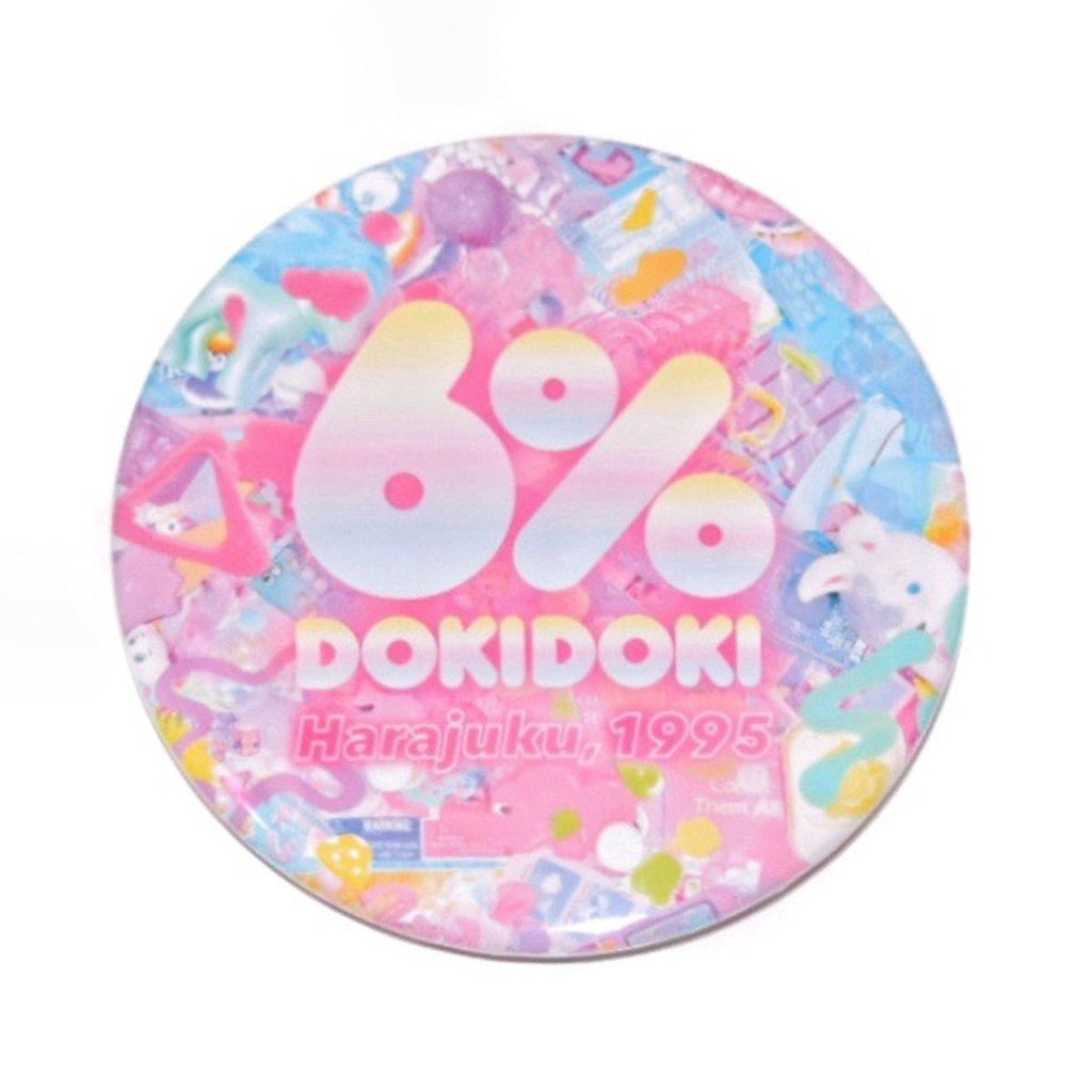 6% DOKIDOKI primal pop badge