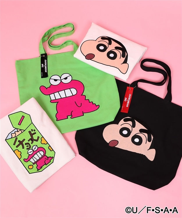 W❤️C Crayon Shinchan anime tote bag