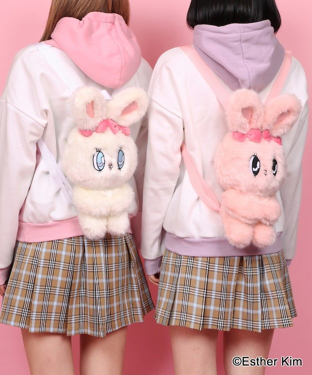 W❤️C Esther Kim 2020 Esther bunny backpack
