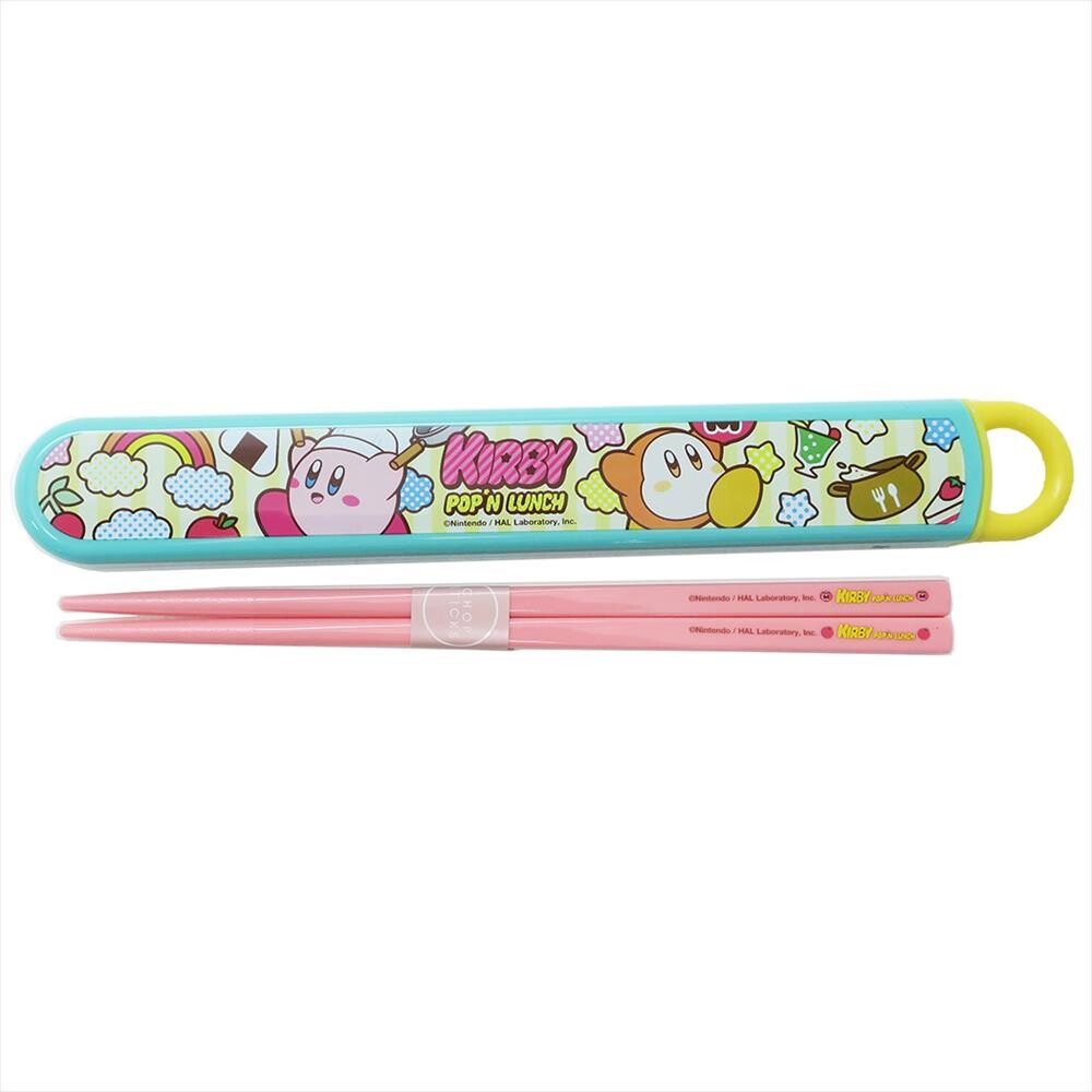 "Kirby ""Pop'n Lunch"" chopsticks set"
