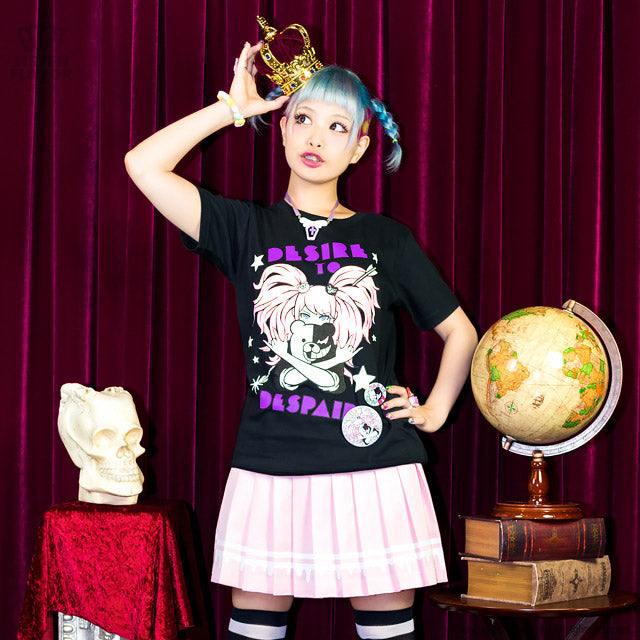 Listen Flavor Danganronpa desire to despair t-shirt