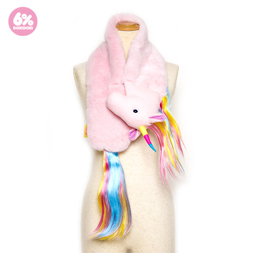 6% DOKIDOKI new generation unicorn scarf