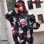 ACDC RAG and Gloomy Bear dark hoodie