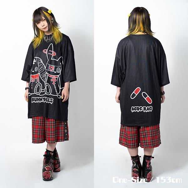 ACDC RAG Bunny Dolls t-shirt dress