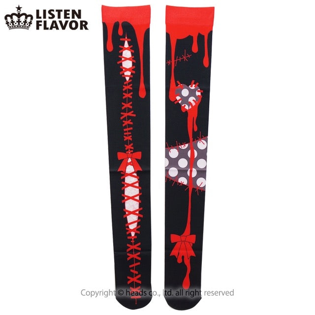 "Yummy! for Listen Flavor ""Magical Zombie Girl"" socks"