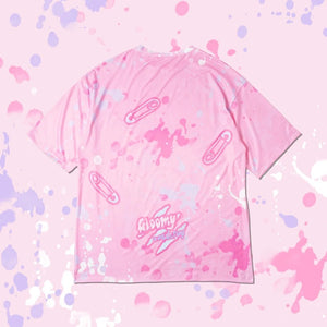 ACDC RAG and Gloomy Bear pastel t-shirt