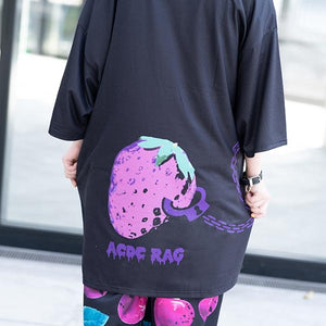 "ACDC RAG Bunny Dolls ""Nero"" t-shirt dress"