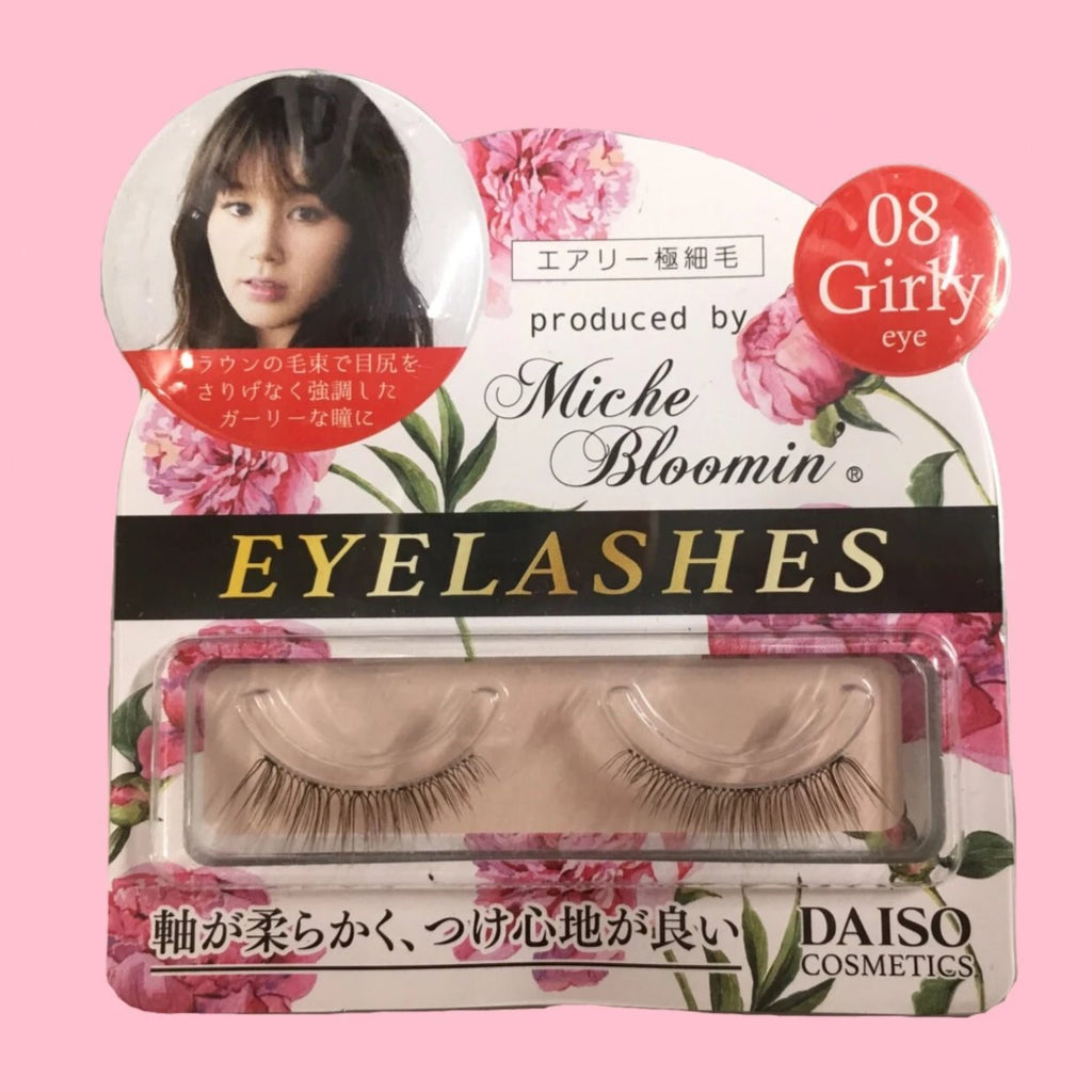 "Miche Bloomin' ""girly"" false eyelashes"