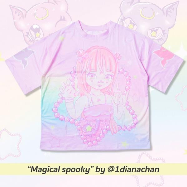 "ACDC RAG ""Magical Spooky"" design contest t-shirt"