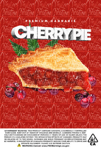 Custom Mylar Bag - Cherry Pie