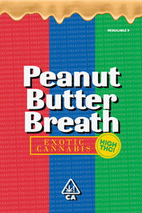 Custom Mylar Bag - Peanut Butter Breath
