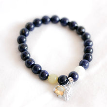 Load image into Gallery viewer, Gemstone charm bracelets
