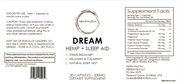 DREAM: HEMP + Sleep Aid