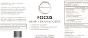 FOCUS: HEMP + Brain Booster