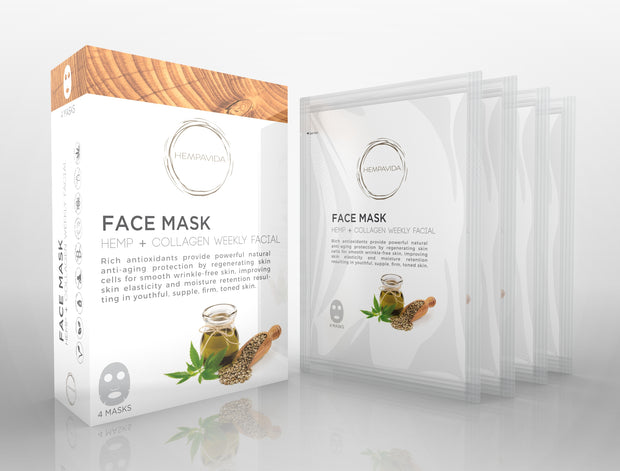 HEMP + COLLAGEN FACIAL PACK (4)