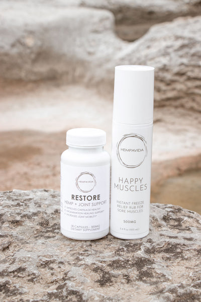 RESTORE + HAPPY MUSCLES COMBO PACK