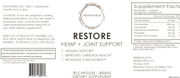 RESTORE HEMP + Joint Support