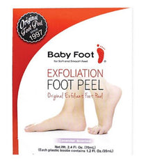 Baby foot exfoliant for feet