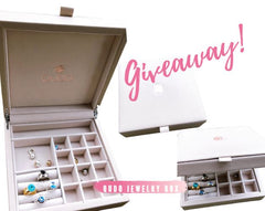 Giveaway Qudo Jewelry Giveaway Swarovski Crystal Jewelry Jewelry Box