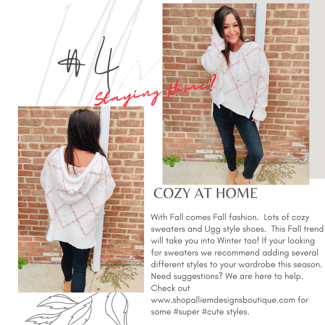 Staying Home - Fall Fashion - Cozy Must Haves - Women's Clothing