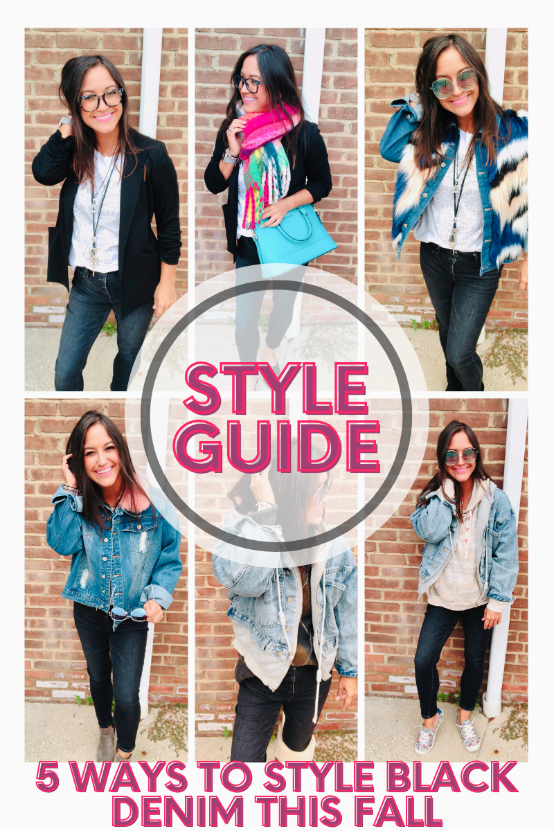 style guide - black jeans style - fall fashion - fall must haves