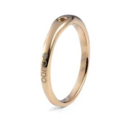 Qudo BASIC RING FINE (G/P) - alliemdesignsboutique